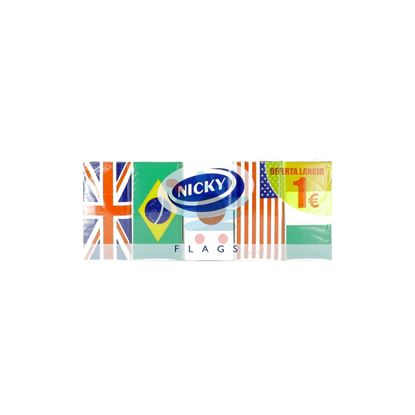 NICKY FAZZOLETTI FLAGS 4V 10PZ