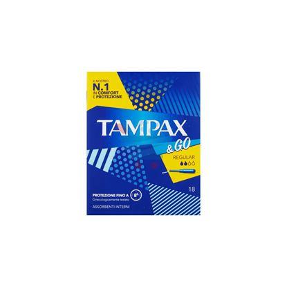 TAMPAX & GO REGULAR 18 PEZZI