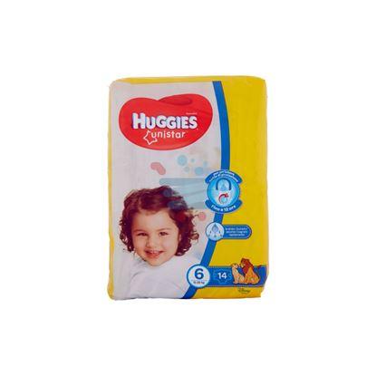 HUGGIES UNISTAR PANNOLINI 15-30 KG MISURA 6