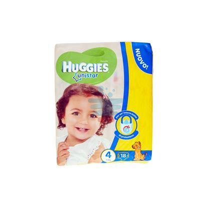 HUGGIES UNISTAR PANNOLINI 7-18 KG MISURA 4