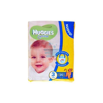 HUGGIES UNISTAR PANNOLINI 4-9 KG MISURA 3