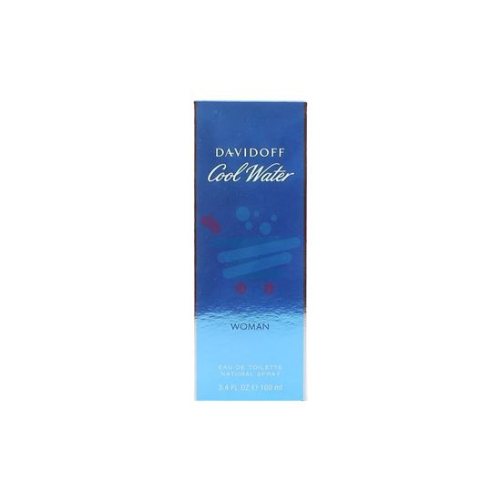 DAVIDOFF COOL WATER WOMAN EAU DE TOILLETTE 100ML SPRAY