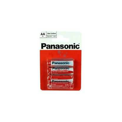 PANASONIC ZINC CARBON STILO 1.5 VOLT 4 PEZZI