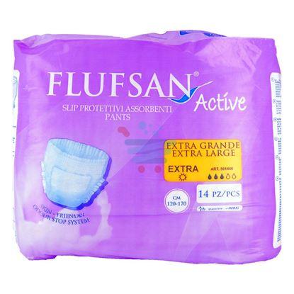 FLUFSAN ACTIVE SLIP INCONTINENZA EXTRALARGE 14 PEZZI