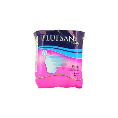 FLUFSAN SLIP LADY PANTS MEDIO X8