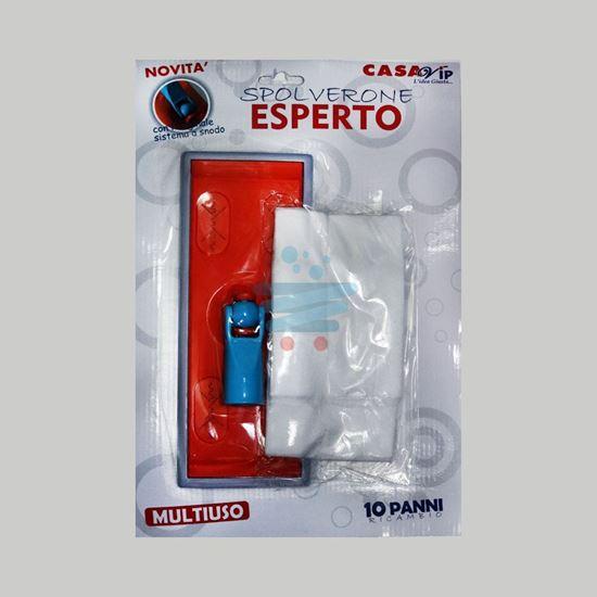 CASAVIP KIT SPOLVERONE ESPERTO + 10PANNI RICAMBIO