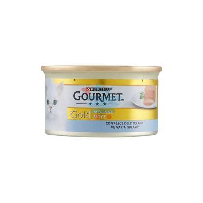 GOURMET GOLD MOUSSE PESCE GR.85