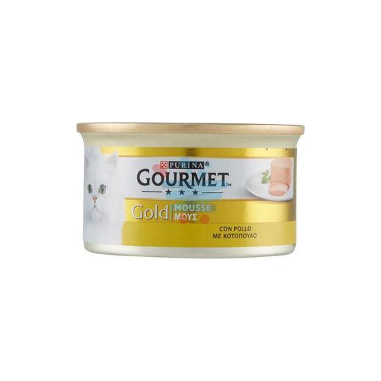 GOURMET GOLD MOUSSE POLLO GR.85
