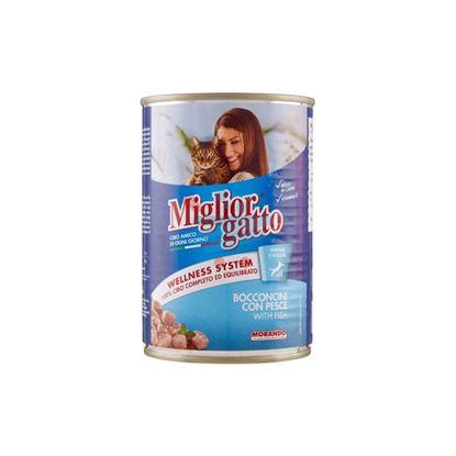 MIGLIOR GATTO BOCCONI PESCE 405GR