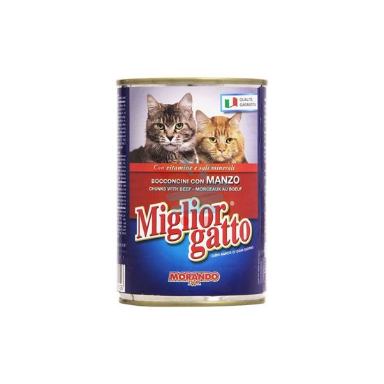 MIGLIOR GATTO BOCCONI MANZO 405GR