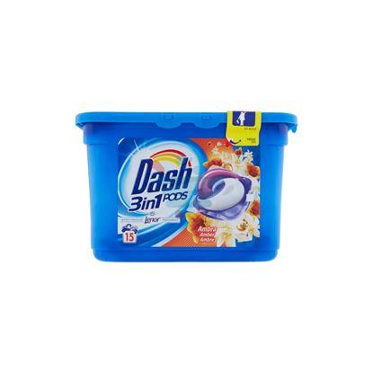 DASH PODS 3IN1 AMBRA X15