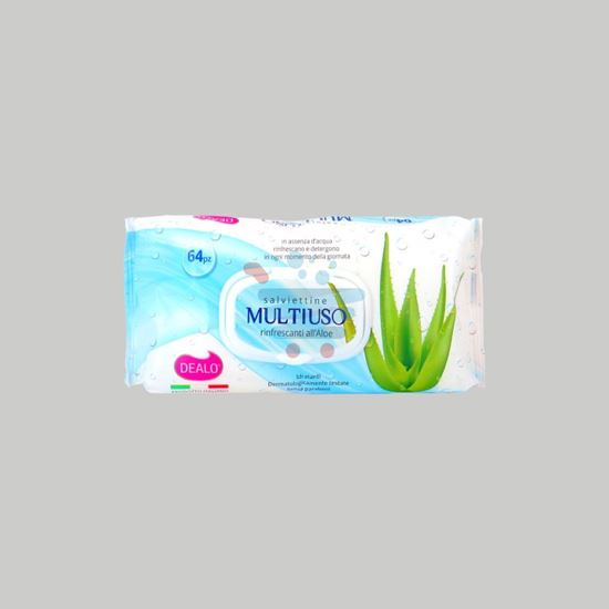 DEALO SALVIETTINE BABY MULTIUSO  ALOE 64PZ