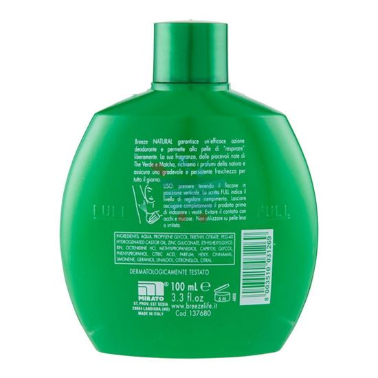 BREEZE DEODORANTE SQUEEZE NATURAL 100ML