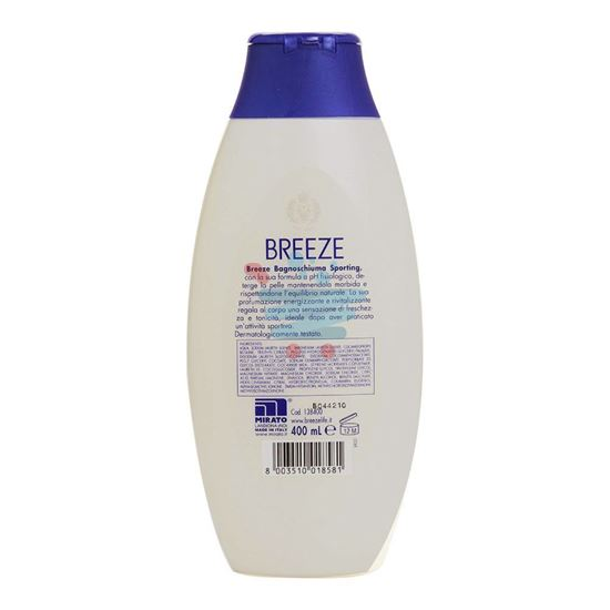BREEZE BAGNOSCHIUMA SPORTING 400 ML.