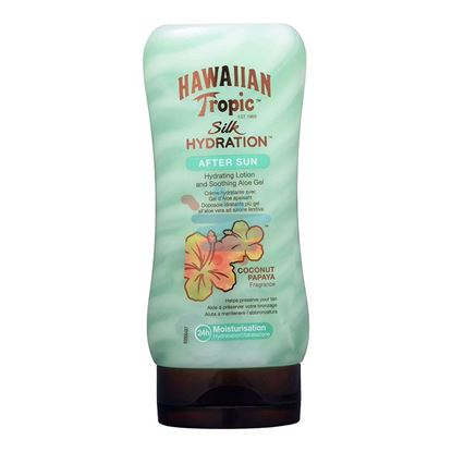 HAWAIIAN TROPIC DOPO SOLE SILK HYDRATION 180ML