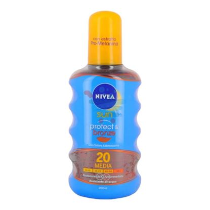 NIVEA SUN OIL PROT.&BRON SPRAY FP20 200ML