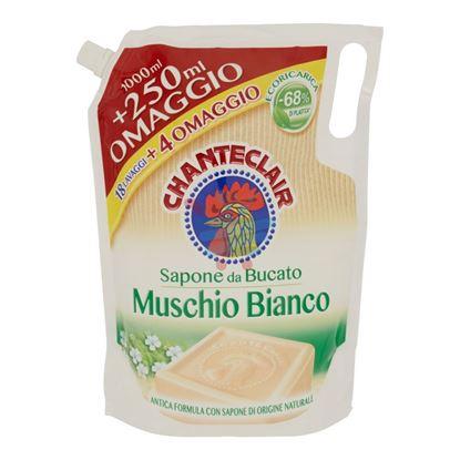 CHANTECLAIR SAPONE DA BUCATO MUSCHIO BIANCO ECORICARICA 1250ml