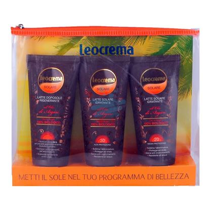 LEOCREMA SOLARE ARGAN TRAVEL KIT 100 FAF972