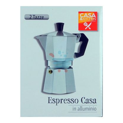 CASA&KITCHEN CAFFETTIERA ESPRESSO CASA 2 TAZZE