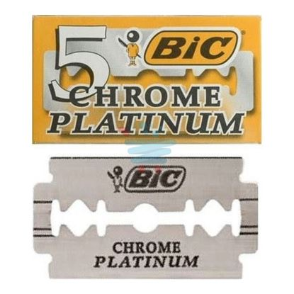 BIC STAINLESS 5 CHROME PLATINUM