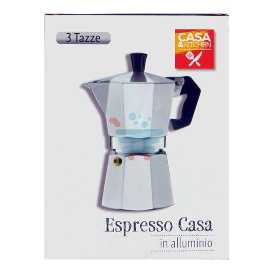 CASA&KITCHEN CAFFETTIERA ESPRESSO 3 TAZZA