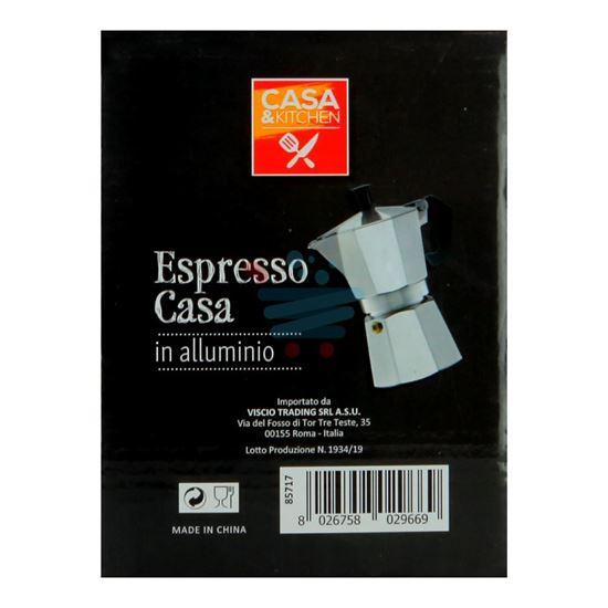 CASA&KITCHEN CAFFETTIERA ESPRESSO 6 TAZZA