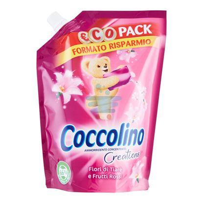 COCCOLINO CREATIONS AMMORBIDENTE CONCENTRATO FIORI DI TIARÈ E FRUTTI ROSSI €COPACK 700ML