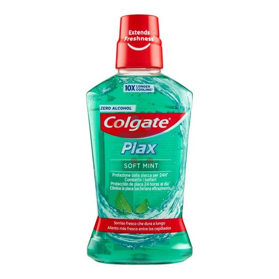 COLGATE COLLUTTORIO PLAX SOFT MINT 500ML