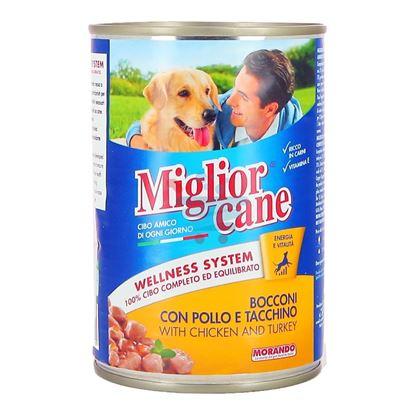 MIGLIOR CANE BOCCONI POLLO TACCHINO 405GR