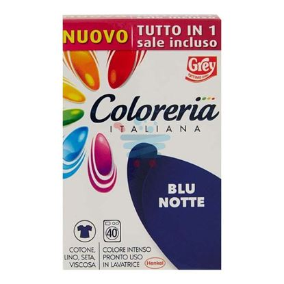 COLORERIA ITALIANA BLU NOTTE+ SALE 350GR.