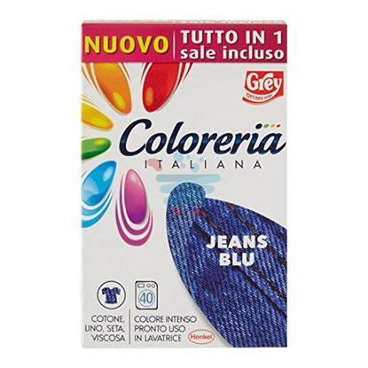 COLORERIA ITALIANA BLUE JEANS + SALE 350GR