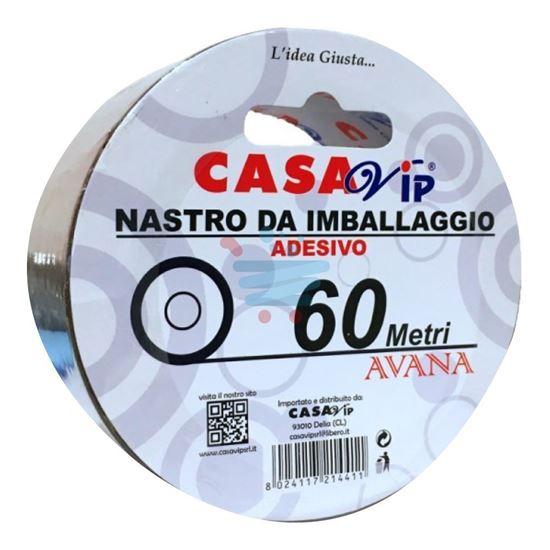 CASAVIP NASTRO IMBALLAGGIO AVANA 60MT