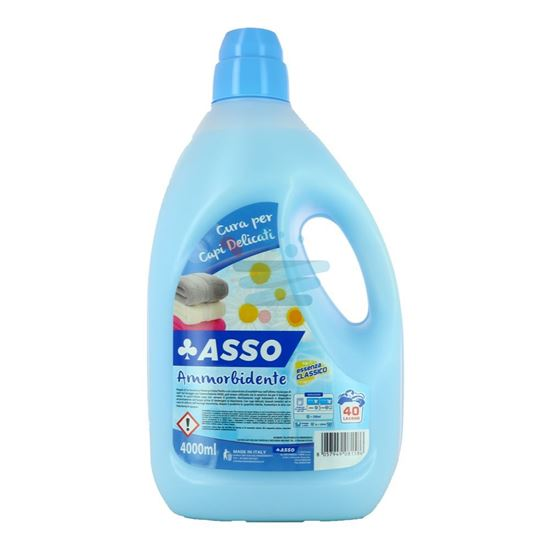 ASSO AMMORBIDENTE BLU CLASSICO 40 LAVAGGI 4 LT
