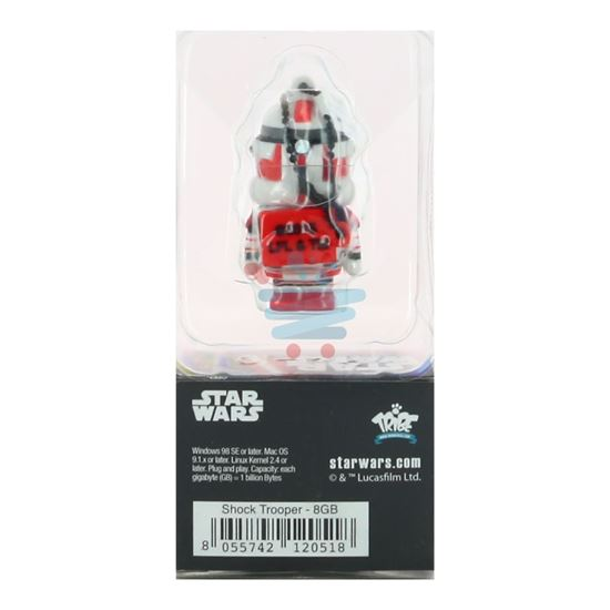 DISNEY STAR WARS PENDRIVE 8GB SHOCK TROOPER