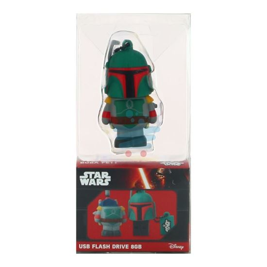 DISNEY STAR WARS PENDRIVE 8GB BOBA FETT