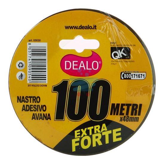 DEALO NASTRO IMBALLO  100MT AVANA