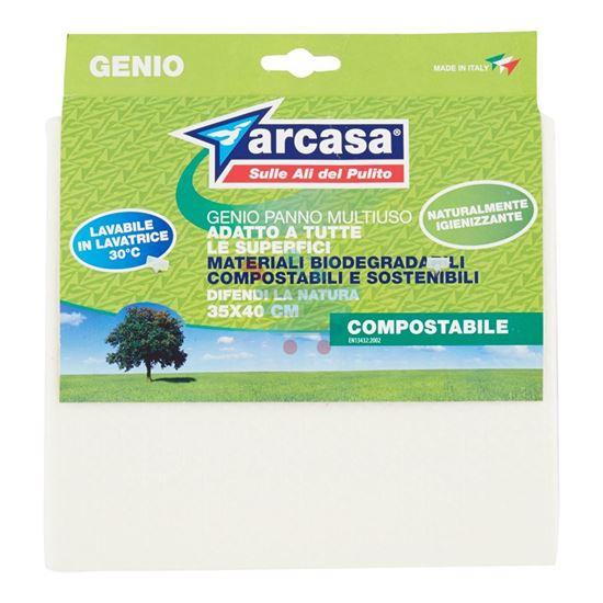 ARCASA GENIO PANNO MULTIUSO COMPOSTABILE 35X40 CM