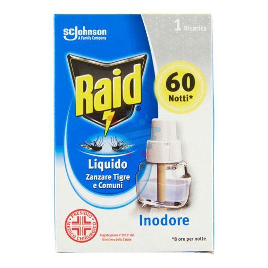 RAID LIQUIDO RICARICA 60 NOTTI INODORE