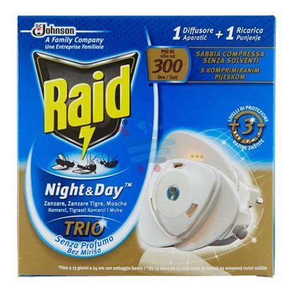 RAID NIGHT&DAY TRIO 1 DIFFUSORE + 1 RICARICA