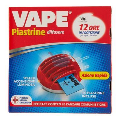 """VAPE PIASTRINE MAT """"E"""" DIFFUSORE + 10 PIASTRINE"""