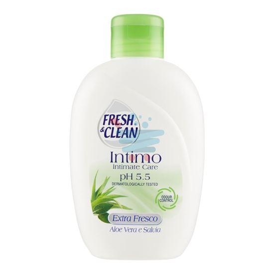 FRESH&CLEAN INTIMO PH 5.5 EXTRA FRESCO ALOE VERA E SALVIA 200 ML
