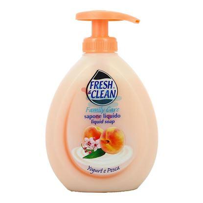FRESH&CLEAN SAPONE LIQUIDO YOGURT E PESCA 300 ML