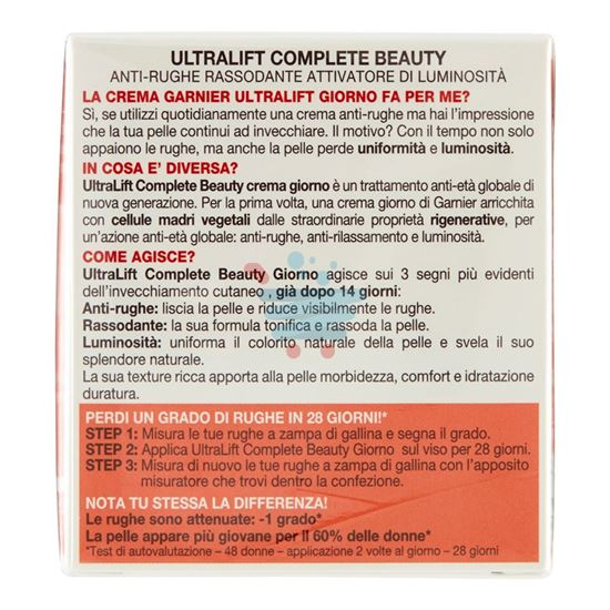 GARNIER SKIN NATURALS ULTRALIFT COMPLETE BEAUTY CREMA GIORNO 50 ML