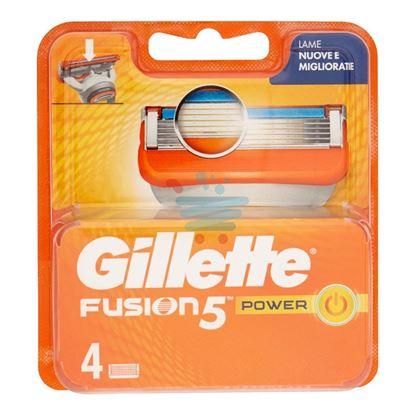 GILLETTE FUSION5 POWER RICARICA 4 PEZZI