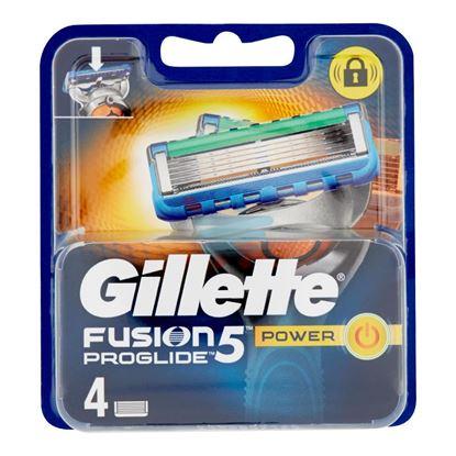 GILLETTE FUSION5 PROGLIDE POWER RICARICA 4 PEZZI