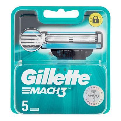 GILLETTE MACH3  RICARICA 5 PEZZI