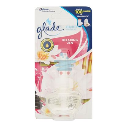 GLADE ELECTRIC SCENTED OIL RELAXING ZEN RICARICA 20 ML