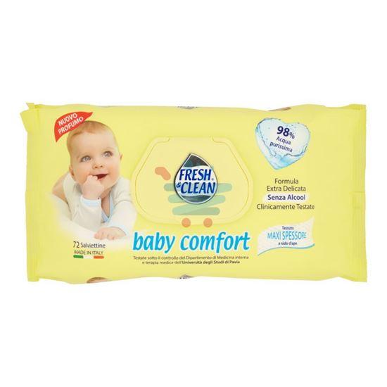 FRESH&CLEAN SALVIETTINE BABY COMFORT 72 PEZZI