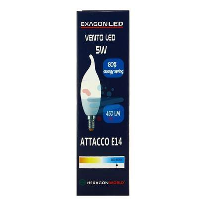 TEKLIFE LAMPADINA COLPO DI VENTO LED XEGAG 5W  E14