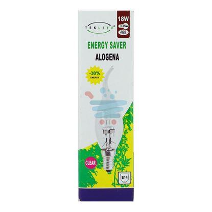 TEKLIFE LAMPADA ALOGENA COLPO DI VENTO 18W E14 CLEAR